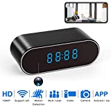 WiFi Spy Camera Hidden Wireless IP Surveillance Camera Clock 1080P Video Recorder