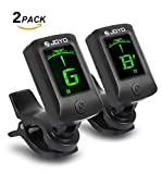 Best Clip On Guitar Tuners - [2 Pack] JOYO JT-06 Clip on Tuner Review