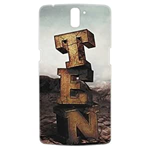 a AND b Designer Printed Mobile Back Cover / Back Case For OnePlus One (1Plus1_3D_1011)