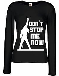 Camisetas de Manga Larga para Mujer Don't stop me now!