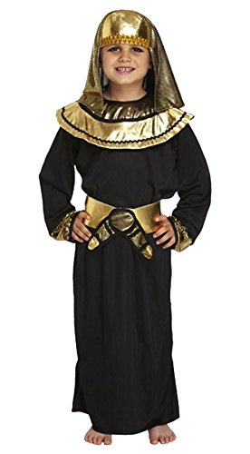 Boys Disfraz de Pharaoh egipcio Nios Tutankhamun Book Week Disfraz de disfraz 4-12 aos