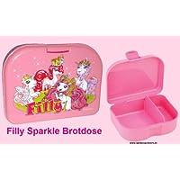 Preisvergleich für Filly Prinzessin Sparkle Brotdose - Lunchbox -Frühstücksdose - Snackbox - 2 Fächer Große Dose