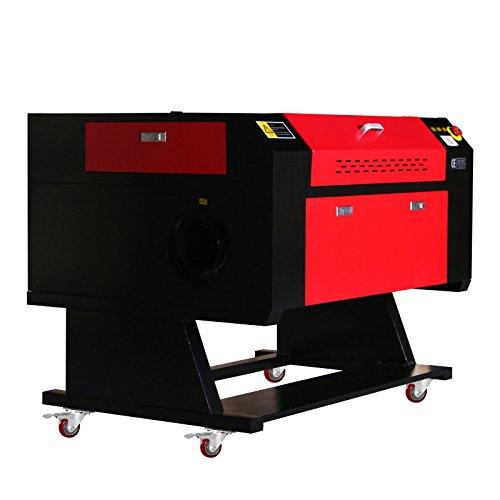 FurMune Laser Graviermaschine Laser Gravur Maschine Co2 Laser Engraving Machine USB Schnittstelle 80W Präzise und Schnelle (80W) (Die Maschine Bambus-sticks)