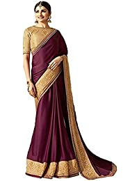 Indian Sarees For Women Partywear Ethnic Traditional Designer Sari