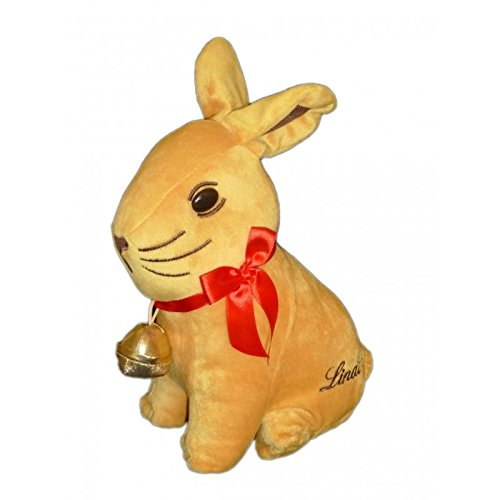 doudou-peluche-lapin-lindt-noeud-rouge-poche-fermeture-grelot-clochette-dore-25-cm