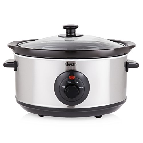 Swan 3.5 Litre Oval Stainless St...