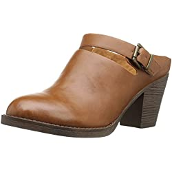 BC Footwear Women s Gleam Mule Tan 7.5 B(M) US