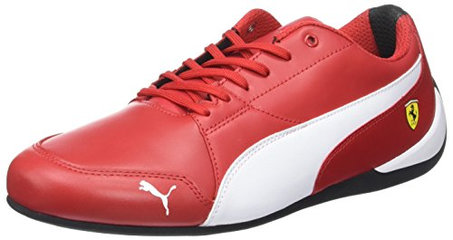 Puma Unisex-Erwachsene SF Drift Cat 7 Sneaker, Rot (Rosso Corsa White-Black), 38 EU