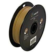 1.75mm Wood PLA 3D Printer Filament - 1kg Spool (2.2 lbs) - Dimensional Accuracy +/- 0.03mm