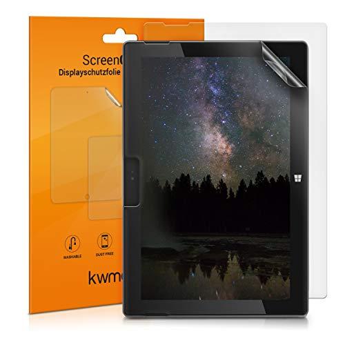 kwmobile 2X Microsoft Surface Go Folie - Full Screen Tablet Schutzfolie für Microsoft Surface Go entspiegelt