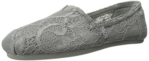 Bobs by Skechers Urban Trails Tessile Mocassini Grey Lace