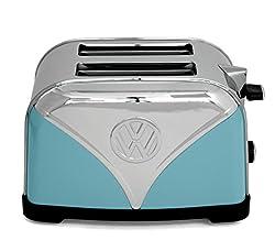 Unbekannt Blue Volkswagen Camper Stainless Steel Toaster