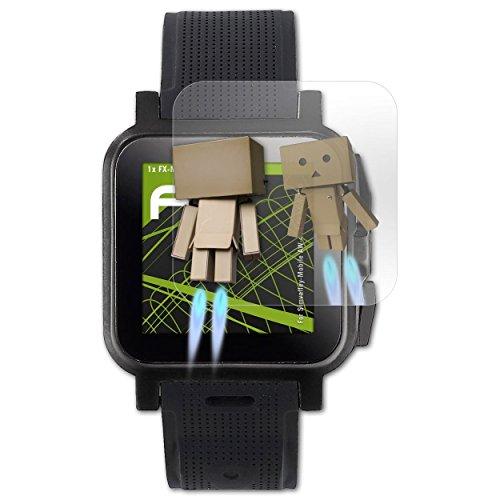 atFoliX Bildschirmfolie für Simvalley-Mobile AW-414.Go/GW-420 Spiegelfolie, Spiegeleffekt FX Schutzfolie