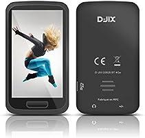 D-Jix D2825BT Baladeur numérique Mémoire Interne MP3 Ecran Tactile