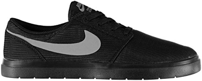 Original-Schuhe, Nike-Portmore II Skate-Schuhe Sneaker Sportschuhe, für Herren, Schwarz-Grau