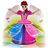 FunBlast™ Dancing Angel Doll/Girl/Princess Toys For Kids With Music, Flashing Lights, Dancing Toys For Kids,Battery Operated, Multi Color