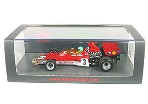 SPARK S7126 - Coche en Miniatura de colección, Color Rojo y Blanco
