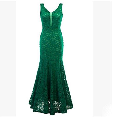 KUKI La signora fishtail ha perso il vestito da sera party party 3