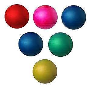trenas Berstsicherer Gymnastikball – Sitzball – 45 bis 85 cm – Fitnessball