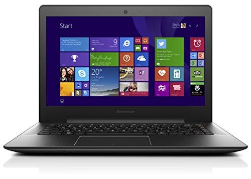 Lenovo U41-70 BDW 35,6 cm (14,0 Zoll Full HD Matt) Ultrabook (Intel Core i3-5020U, 2,2GHz, 4GB RAM, 128GB SSD, Intel HD Grafik 5500, Windows 10 Home) schwarz