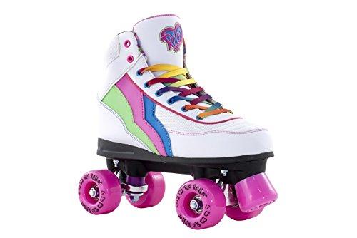 Rio Roller Quad Skates Patins à roulettes pour enfant - Candi