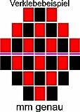 Fliesenaufkleber 20x25 cm in Verschiedenen Mengen und 27 Farben Seidenmatt - 36 Stück - WEISS