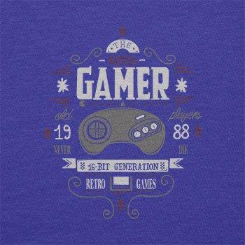 Texlab–The Mega Gamer–sacchetto di stoffa Marine