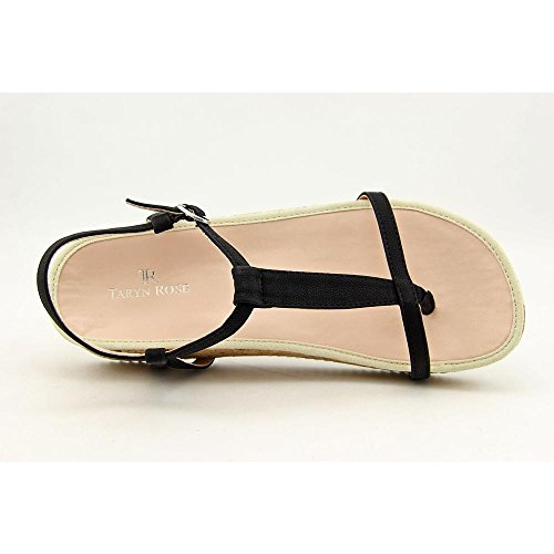 Taryn Rose Amore Daim Tongs Black