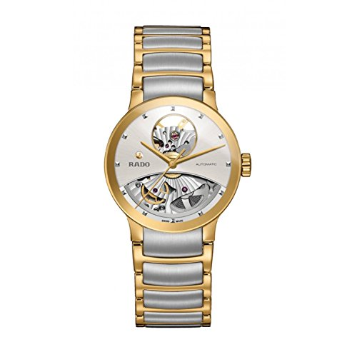 Rado Centrix Damen-Armbanduhr 33mm Zwei Ton Automatik Analog R30246013