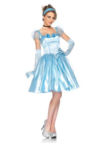 GGTBOUTIQUE Damen A-Linie Kleid blau blau Gr. M, blau