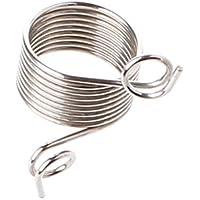 Wondful Stainless Steel Yarn Threader dedo Ring Wool Thread Thimble Knitting Sew Tool large