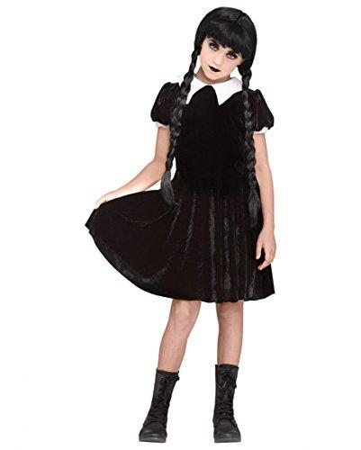(Horror-Shop Wednesday Gothic-Puppe Kostüm XL)