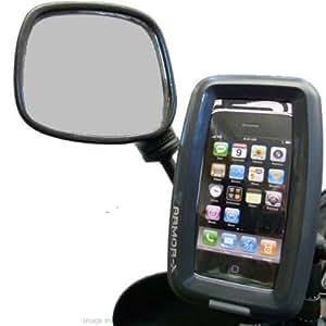 IPX7 imperméable iPhone 4S Rétroviseur Moto Montage (sku 15055)