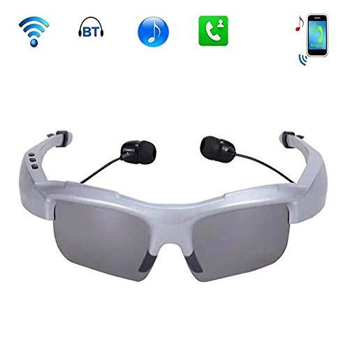 Drahtlose Sonnenbrillen Bluetooth-Sonnenbrillen Music Handfree Headset-Kopfhörer für iPhone 7/7 und Samsung Bluetooth-Geräte