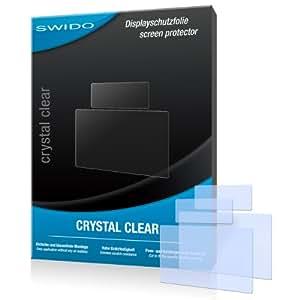 SWIDO Y023185 kristallklar hartbeschichtet Displayschutzfolie für Canon EOS 6D/EOS-6D/6-D (2-er Pack)