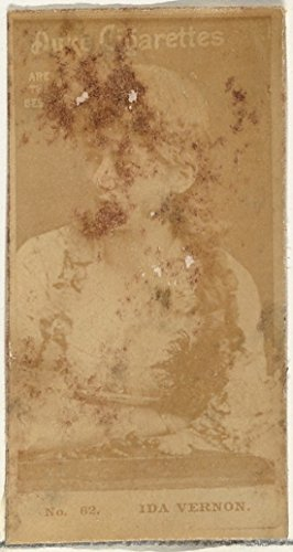 Card Number 62 Ida Vernon from The Actors and Actresses Series (N145-6) Issued by Duke Sons & Co. to Promote Duke Cigarettes Kunstdruck (45,72 x 60,96 cm) Vernon Serien