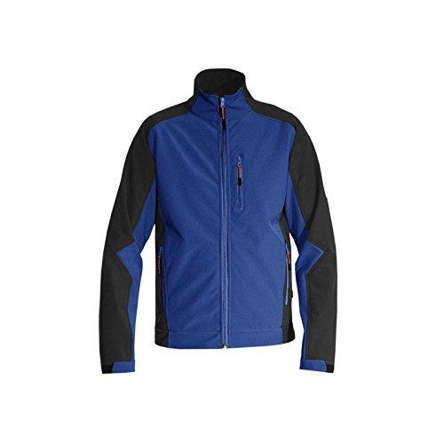Preisvergleich Produktbild Softshell Jacke dryplexx® softlight Kornblau / Schwarz L