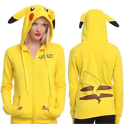 Pikachu Weihnachtsstrickjacke Pokémon Kostüm Halloween L XL XXL,XXL ()