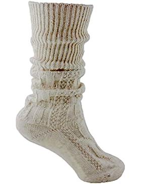 2 Paar Trachten Haferl Socken Strümpfe Kniestrümpfe bzw. warme weiche Haussocken