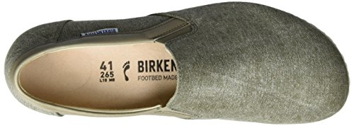 Birkenstock Jenks, Mocassins Homme Vert olive