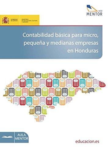 Contabilidad básica para micro, pequeña y medianas empresas en Honduras