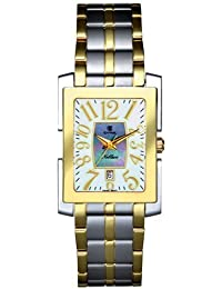 Cyma reloj Noblesse Swiss ETA co. movimiento Mother-of-Pearl Dial cm525 –