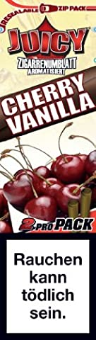 Juicy Double Wrap Cherry Vanilla 25 Doublepacks (50 pieces total)