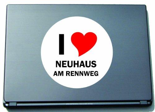 i-love-aufkleber-decal-sticker-laptopaufkleber-laptopskin-210-mm-mit-stadtname-neuhaus-am-rennweg