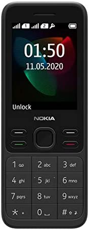 "Nokia 150 (2020) Feature Phone, Dual SIM, 2.4""Display, Camera, expandable MicroSD up to 32GB -"