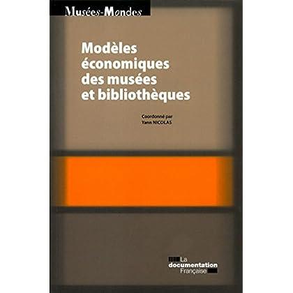 Modèles économiques des musées et bibliothèques