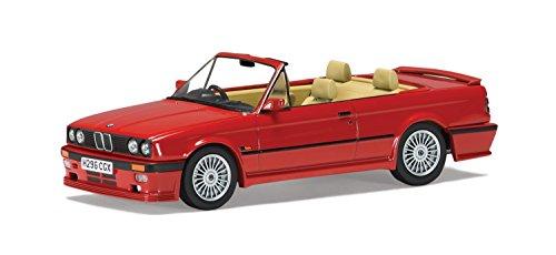 Preisvergleich Produktbild Modellauto 1:43 Corgi BMW 325i C2 2,6 Alpina E30 3er Cabriolet rot