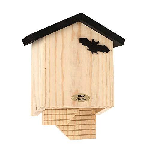 Vivara Fledermauskasten Chaumont - 25 x 32 x 11 cm - Holz - Nistkasten für Fledermäuse