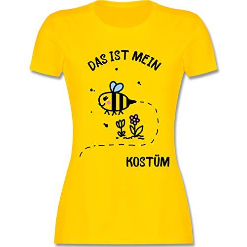 Karneval & Fasching - Das ist Mein Bienen Kostüm - XXL - Gelb - L191 - Damen Tshirt und Frauen T-Shirt