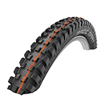 Schwalbe Magic Mary ADDIX Evolution Line, Flexible Unisex Adult Bicycle Tyre, Black, 27.5 x 2.60/65-584